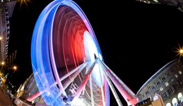 Wheel of Sheffield in Red