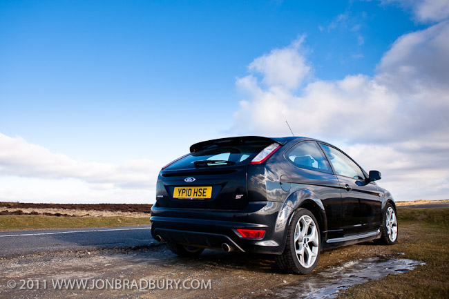 Ford Focus ST rear three quarters