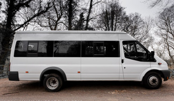 Ford Transit Minibus side view