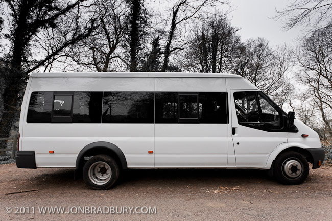 Ford Transit Minibus side view