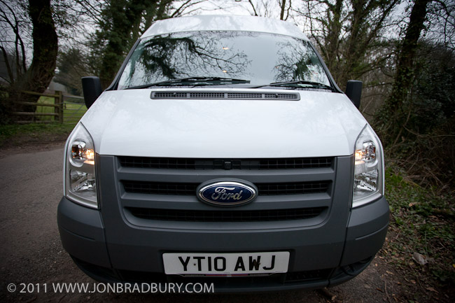 Ford Transit Minibus Front