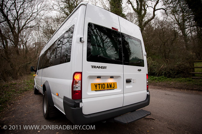 Transit Rear Quarter