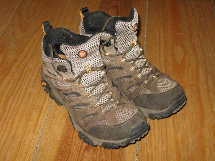 Old Merrell Boots