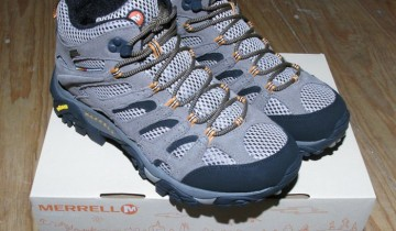 Shiny New Merrell Boots