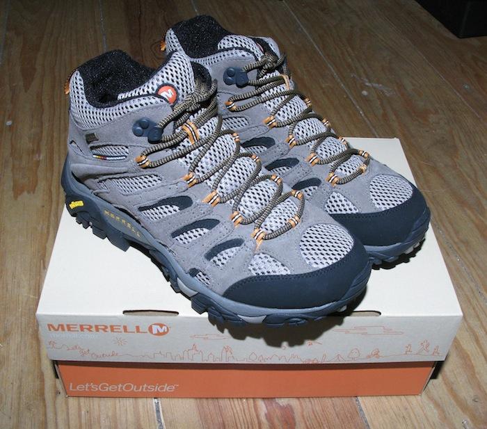 New Merrell Boots