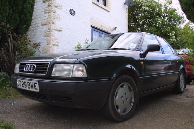 Audi 80 front 3/4