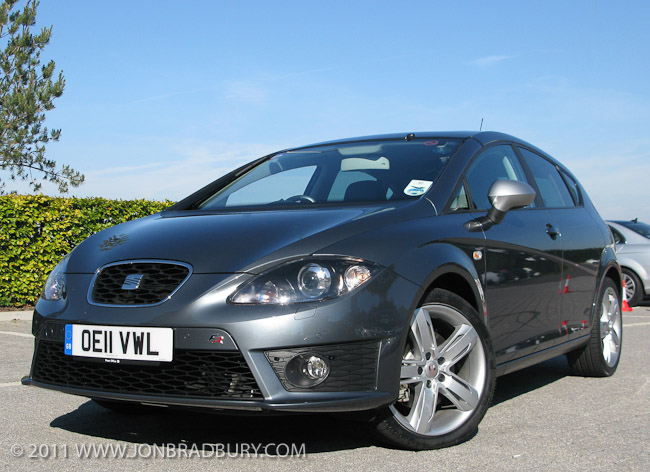 Seat Leon FR+ front 3/4
