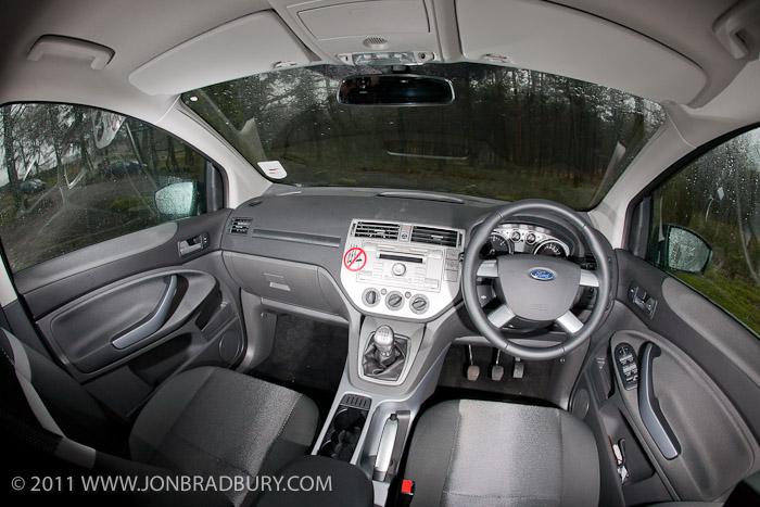 Kuga interior front