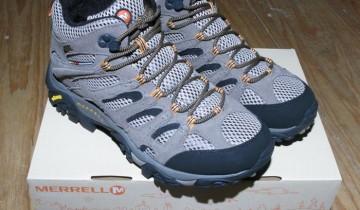 Shiny New Merrell Boots