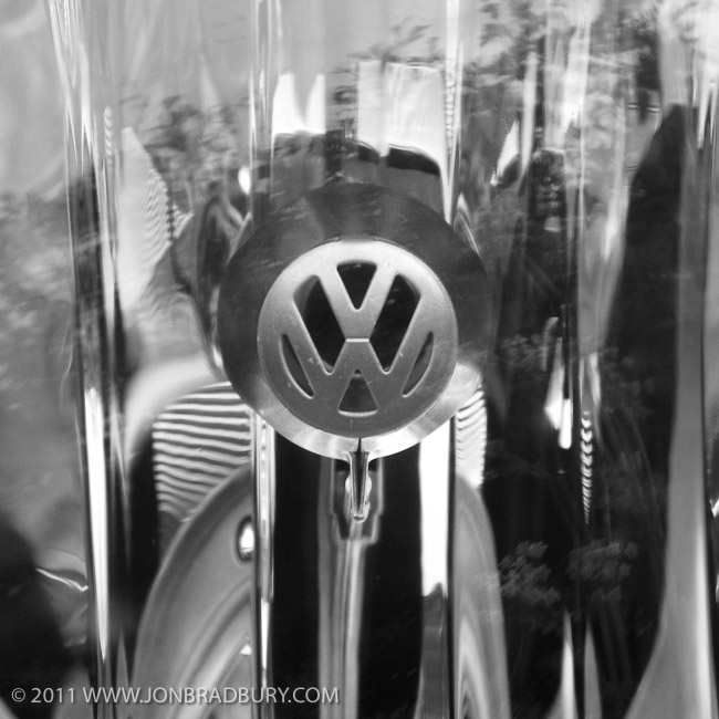 VW Headlight Detail